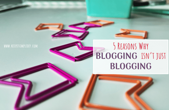 5 Reasons Why Blogging isn't just Blogging