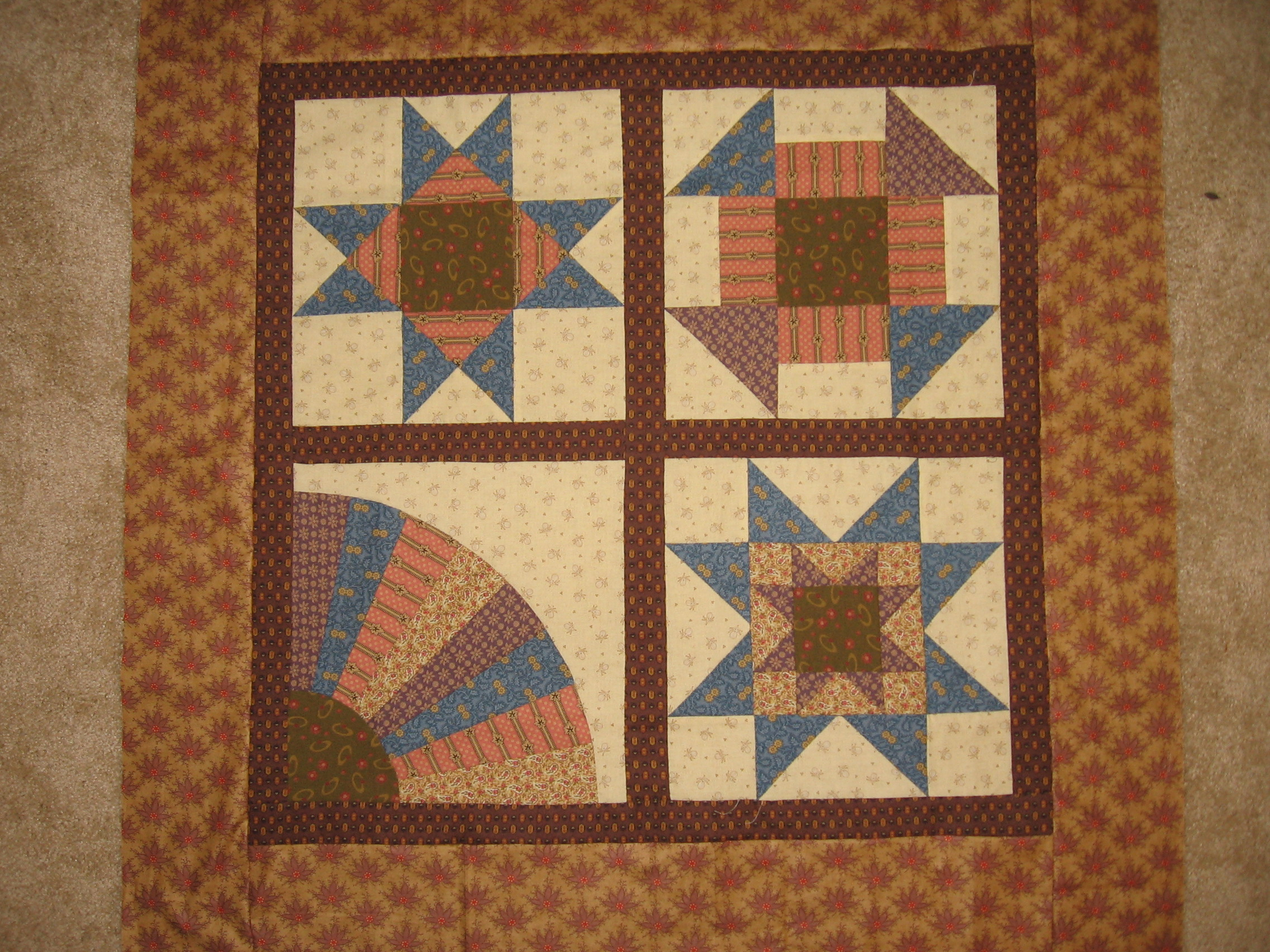 Hand-pieced Wall Hanging