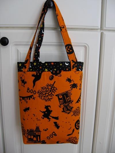 Free Pattern - Trick or Treat Bag