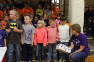 KLBB - Burwell Elementary - Trash Rap contest 11212014 1