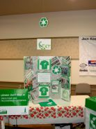 The Green Team Booth at the Spring Show