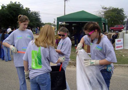 The very first Green Team