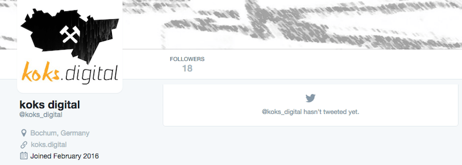 Twitter-Account von Koks.Digital