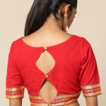 38 Simple And Stylish Blouse Back Neck Designs Keep Me Stylish