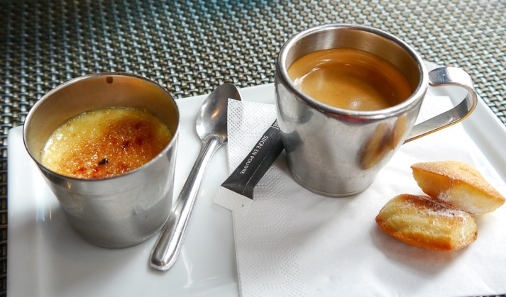 This creme brulee was set a blazed. It was perfect in every way and leaves me with fond memories of a beautiful meal!