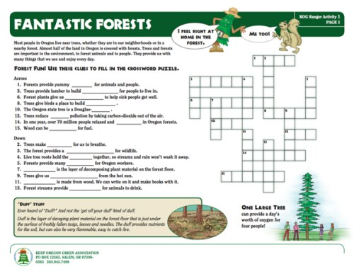 preview of Fantastic Forests