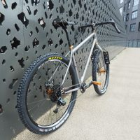 Custom build Salsa Fargo with lots of lovely Hope bits