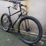 A handsome Rohloff and dynomo equipped custom Jones Bike