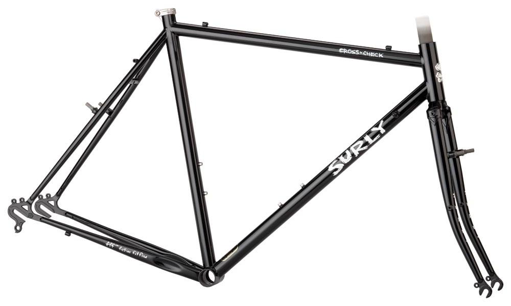 Surly Cross Check frameset in Gloss Black
