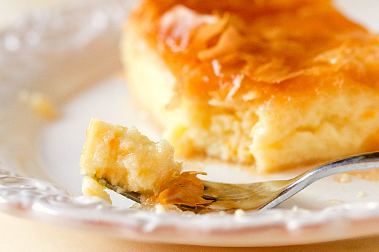 Greek Custard Pie Recipe Galaktoboureko Keeprecipes