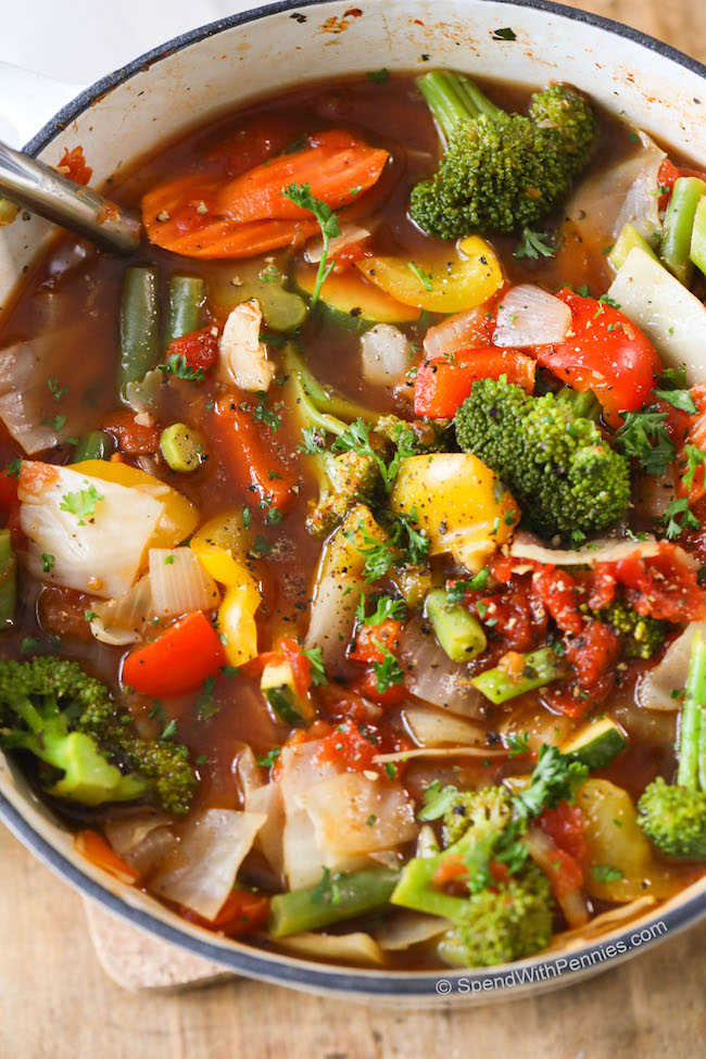 Weight Loss Vegetable Soup Recipe   KeepRecipes: Your ...