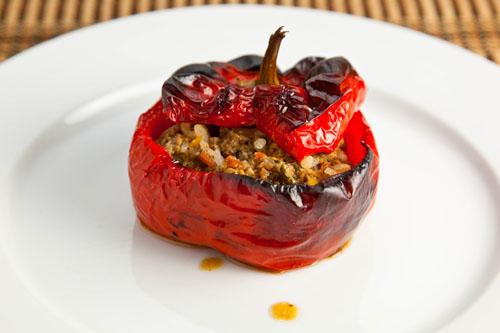 Gemista (Greek Stuffed Tomatoes and Peppers) | KeepRecipes