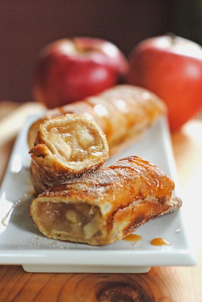 Cinnamon Apple Dessert Chimichangas Keeprecipes Your
