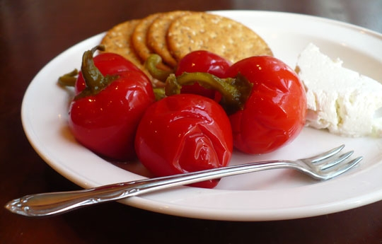 Quick Pickled Cherry Peppers Keeprecipes Your Universal