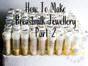 Making Breastmilk Jewellery: Part 2 - The Pitfalls - Keepsaker Supplies