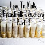 how to make breastmilk jewellery part 3