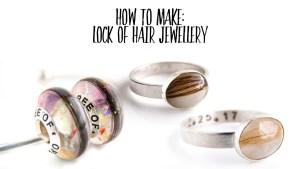 how to make lock of hair jewellery Keepsaker Supplies