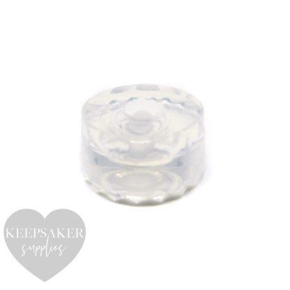 medium charm mould, handmade silicone mold. For Pandora style bracelets, European charms