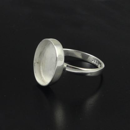 30x20mm ring setting