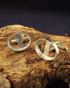 18x13mm open cufflink setting from Caverswall Minerals here
