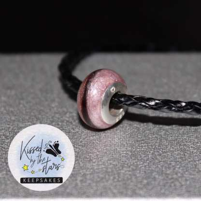 hair bead fairy pink, plain heart glue-in insert - image credit Kissed By The Stars