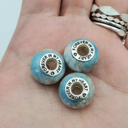 large bead forever in my heart bead core