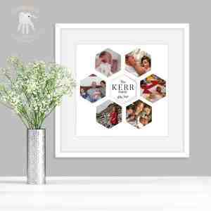 Personalised Photo Hexagon