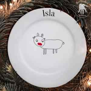 Design-A Reindeer Plate