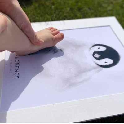 Footprint Kit | Keepsake | New baby gift