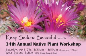 34th Annual Native Plant Workshop Scheduled for April 6, 2013