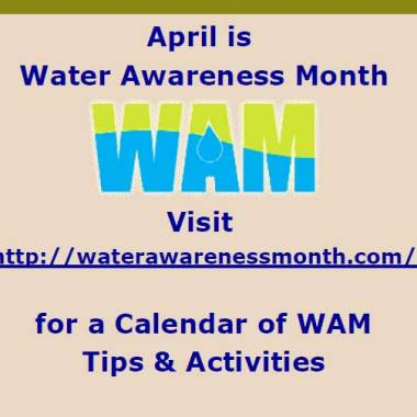 April is Water Awareness Month