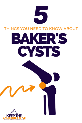 baker's cyst behind the knee
