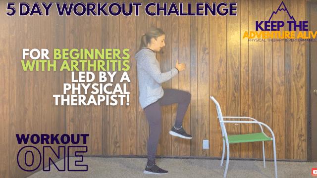 arthritis friendly workout
