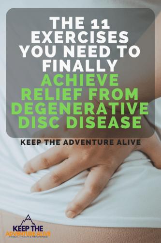 exercise for degenerative disc disease