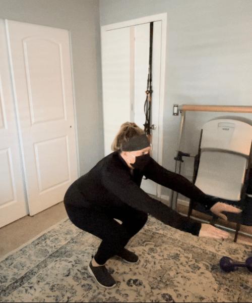 knee arthritis home program