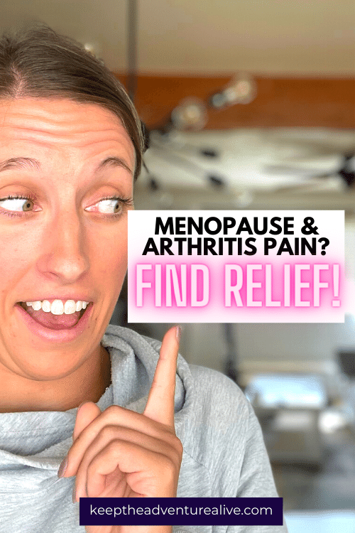 how to treat menopausal arthritis