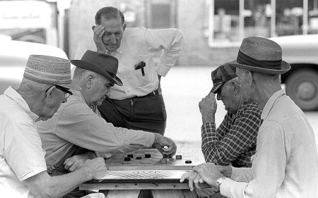 Matthews checker players 09-09-1966