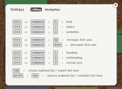 [HotKeys - suite] Vous pouvez ainsi retravailler les écritures de vos post-its pour mettre l'emphase sur certaines choses!