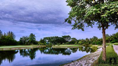 Springfield Golf Club Wasserhindernis