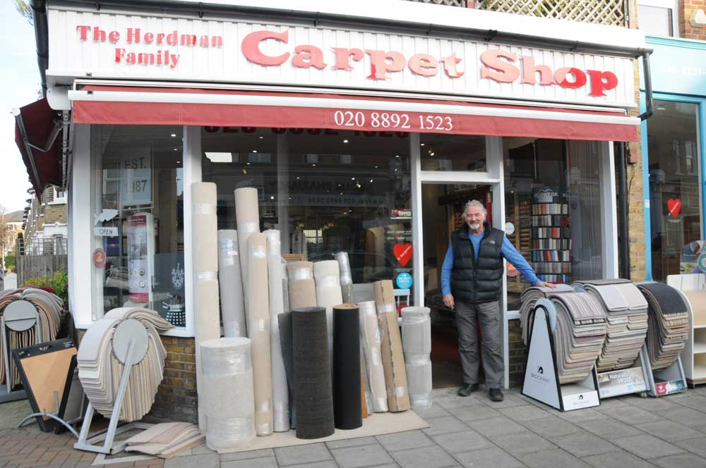 The Herdman Family Carpet Shop