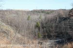 Railroad tracks hike Hazleton Heights  (36 of 47)