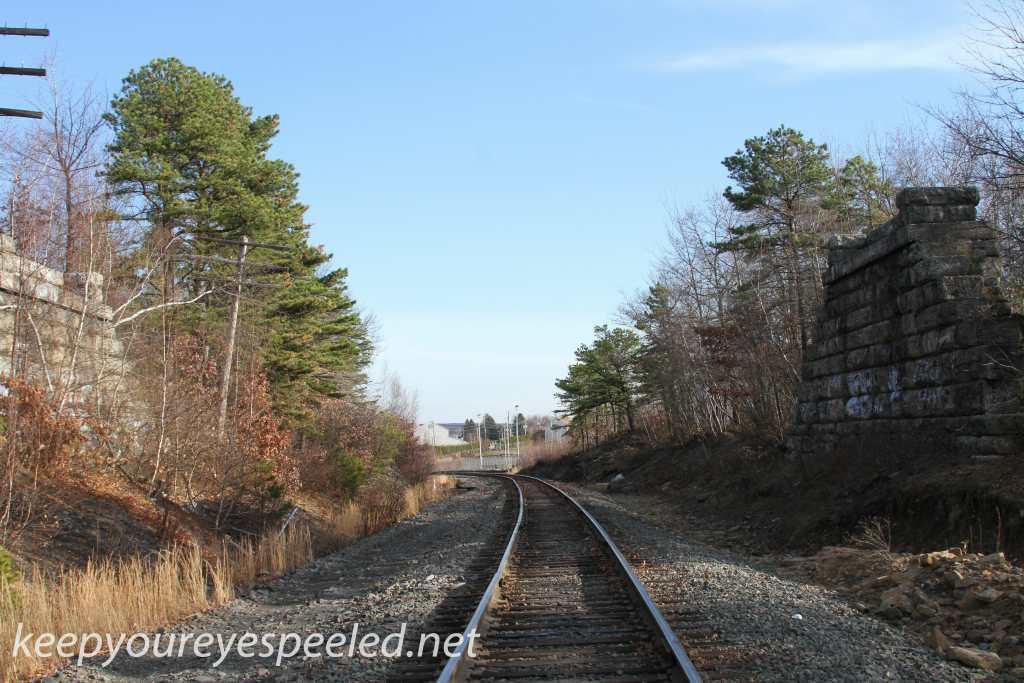 Railroad tracks hike Hazleton Heights  (9 of 47)