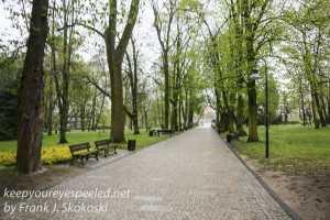 Poland Day Nine Czestochowa walk in park -19