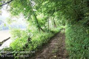 trail along Susquehanna River