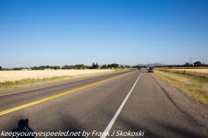 highway with no traffic Idaho Falls