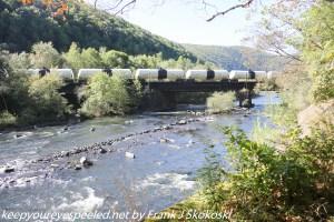 railroad bridge over Lehigh River