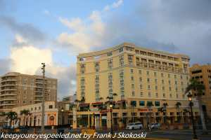 hotels and stores in old San Juan