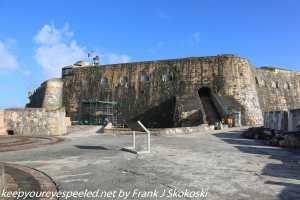 walls of Spanish fort El Morro San Juan