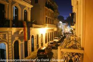 San Sabastian street old San Juan