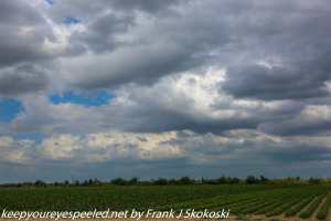 clouds over fields Florida City